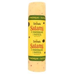 Ser Salami z pomidorami i bazylią