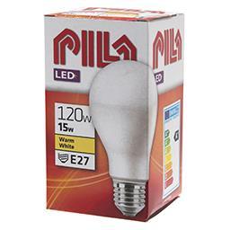 Żarówka LED E27 15W 2700K 120W 1900lm biała ciepła