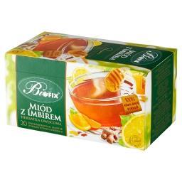 Premium Herbatka owocowa miód z imbirem 40 g