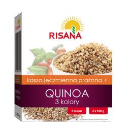 Kasza jęczmienna prażona + Quinoa 3 kolory 200 g (2 torebki)