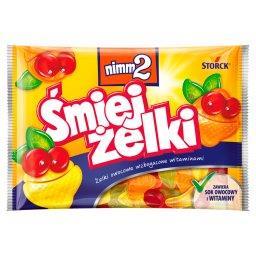 Śmiejżelki Żelki owocowe wzbogacone witaminami