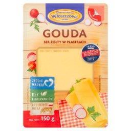 Ser żółty gouda w plastrach