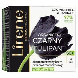 Organiczny czarny tulipan 50+ Skoncentrowany krem pr...
