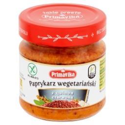 Paprykarz wegetariański z quinoa czerwoną