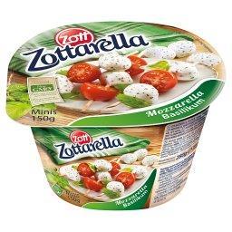 Minis Ser Mozzarella bazylia 150 g