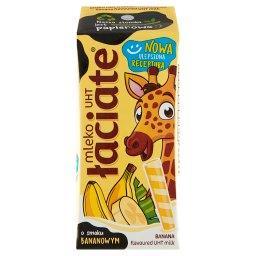 Mleko UHT o smaku bananowym 200 ml