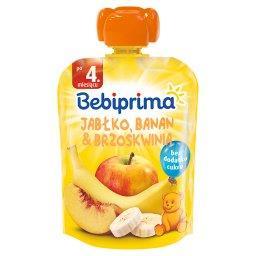 Mus owocowy po 4. miesiącu jabłko banan & brzoskwini...