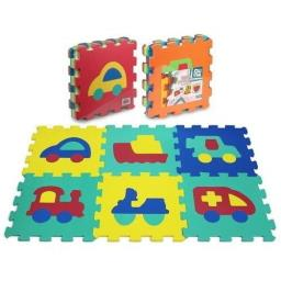 Puzzle podłogowe piankowe 6 elementów 32cm x 32cm