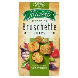 Pieczone krążki chlebowe o smaku mieszanki warzyw śr...