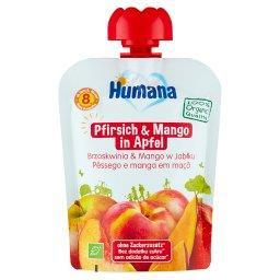 100% Organic Mus brzoskwinia & mango w jabłku po 8. miesiącu