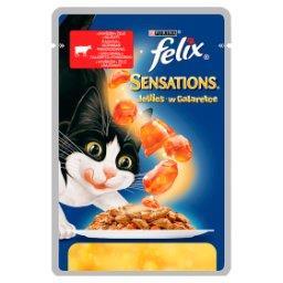 Sensations Karma dla kotów z wołowiną w galaretce z ...