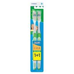 3 Effect Szczoteczka manualna do zębów, średnia, 2 s...