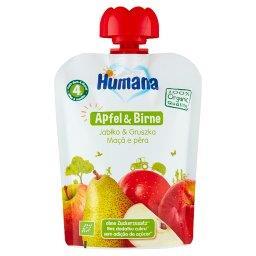 100% Organic Mus jabłko & gruszka po 4. miesiącu