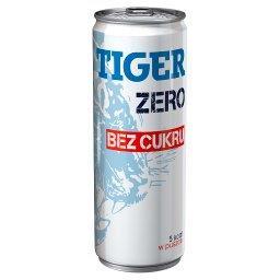 Zero Gazowany napój energetyzujący bez cukru