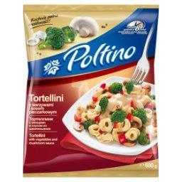 Tortellini z warzywami i sosem pieczarkowym