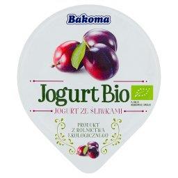 Jogurt Bio ze śliwkami