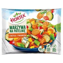 Warzywa na patelnię z bazylią i tymiankiem