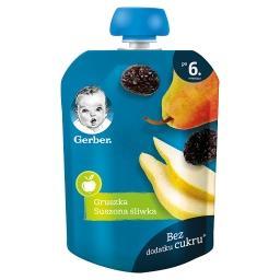 Deserek gruszka suszona śliwka dla niemowląt po 6. m...