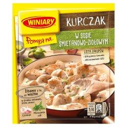 Pomysł na... Kurczak w sosie śmietanowo-ziołowym