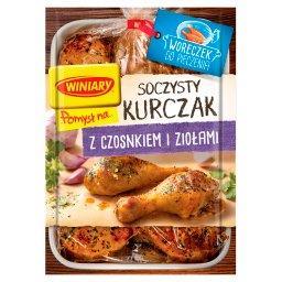 Pomysł na... Soczysty kurczak z czosnkiem i ziołami