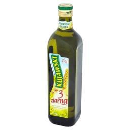 3 ziarna Olej rzepakowy z olejami z lnu i pestek dyni