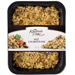 Ryż z warzywami 400g
