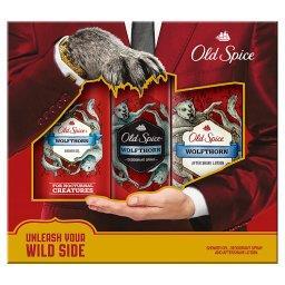 Wolfthorn Dezodorant w sprayu + Żel pod prysznic  + Woda po goleniu