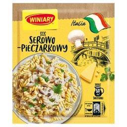 Italia Sos serowo-pieczarkowy