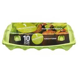 Jaja zielononóżka 10 sztuk