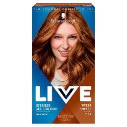 Live Farba do włosów Sweet Toffee 7.57
