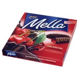 Mella Galaretka w czekoladzie o smaku wiśniowym