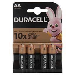 Alkaliczne baterie AA, 4 szt. w opakowaniu