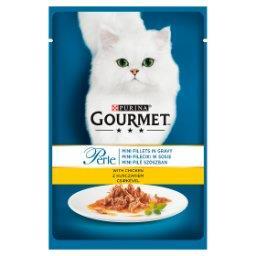 Perle Karma dla kotów mini fileciki w sosie z kurcza...