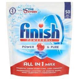 All in 1 Max Power & Pure Tabletki do zmywarki  (50 sztuk)