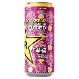 Juiced Passion Frutas Gazowany napój energetyzujący
