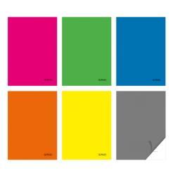 Zeszyt A4 Colors kratka 60 k mix kolorów