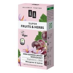 Super Fruits&Herbs krem dzienno-nocny nawilżający wy...