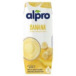 Napój sojowy o smaku bananowym