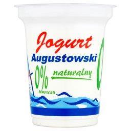 Jogurt Augustowski naturalny 0% tłuszczu