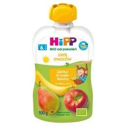 BIO Mus owocowy 100% owoców po 6. miesiącu jabłka-gr...