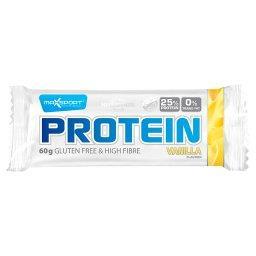 Baton proteinowy waniliowy bez glutenu
