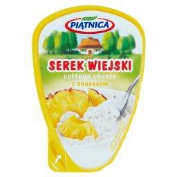 Serek wiejski z ananasem
