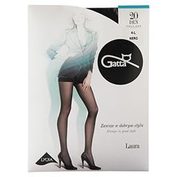 Rajstopy damskie Laura 20DEN 4-L czarny