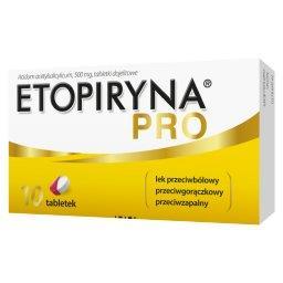 Etopiryna Pro 500 mg x 10 tabl. dojelit.