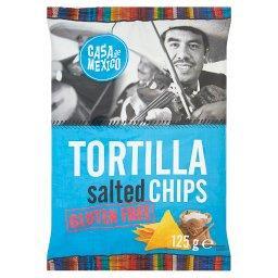 Tortilla salted chips Bezglutenowe chipsy kukurydziane
