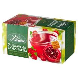 Premium Herbatka owocowa żurawina z granatem 40 g (2...