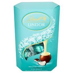 Lindor Coconut Pralinki z czekolady mlecznej z nadzieniem