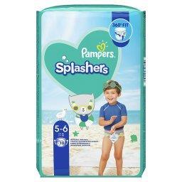 Splashers, Rozmiar 5-6, 10 Jednorazowych Pieluch Do Pływania