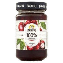 100% z owoców Wiśnia Produkt owocowy