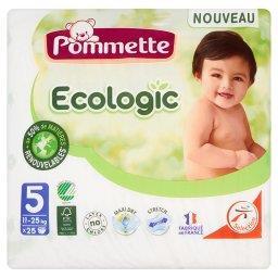 Ecologic Pieluszki dla dzieci rozmiar 5 11-25 kg